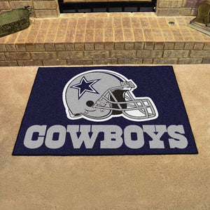 "NFL - Dallas Cowboys All Star Mat 33.75"" x 42.5"""