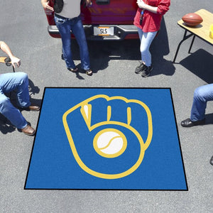 "MLB - Milwaukee Brewers Tailgater Mat 59.5"" x 71"""
