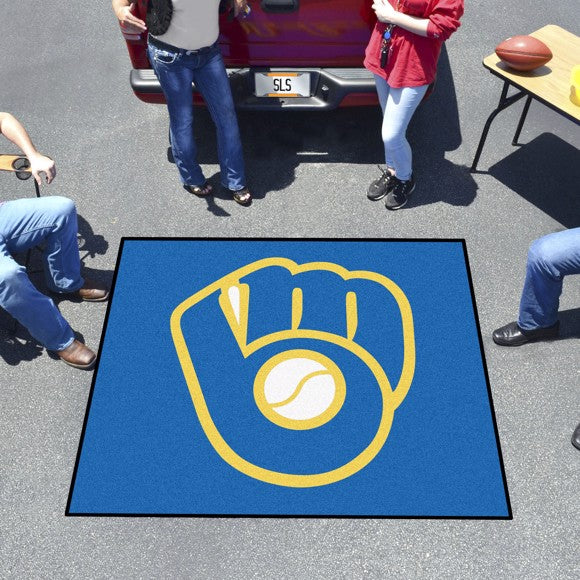 MLB - Milwaukee Brewers Tailgater Mat 59.5