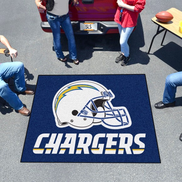 "NFL - Los Angeles Chargers Tailgater Mat 59.5"" x 71"""