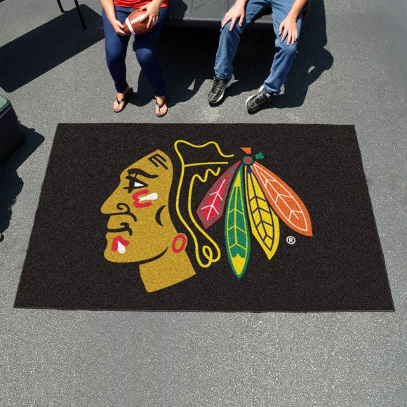 "NHL - Chicago Blackhawks Ulti-Mat 59.5"" x 94.5"""