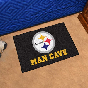 "NFL - Pittsburgh Steelers Man Cave Starter 19"" x 30"""