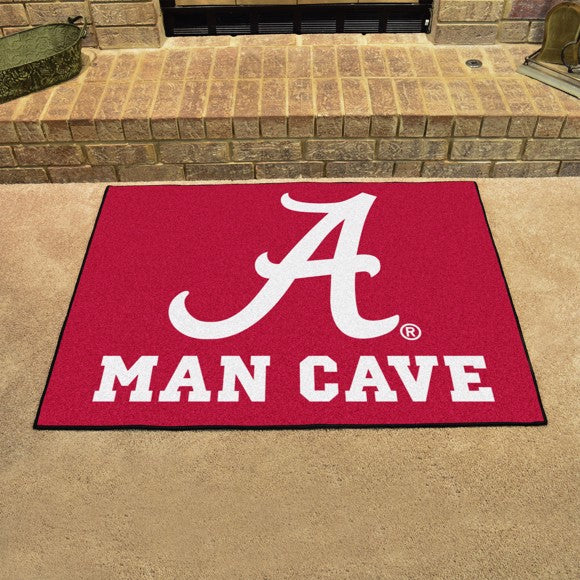 "Alabama Man Cave All Star 33.75"" x 42.5"""