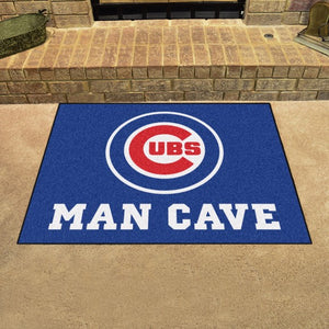 "MLB - Chicago Cubs Man Cave All Star 33.75"" x 42.5"""