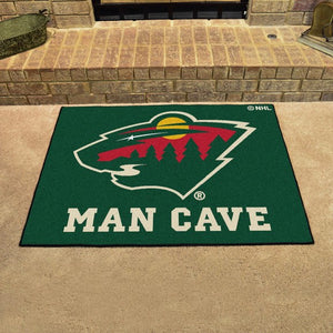 "NHL - Minnesota Wild Man Cave All Star 33.75"" x 42.5"""