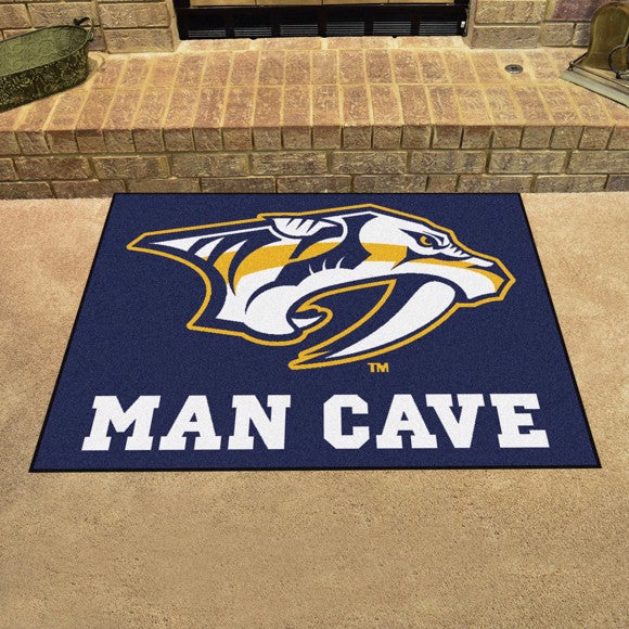 "NHL - Nashville Predators Man Cave All Star 33.75"" x 42.5"""