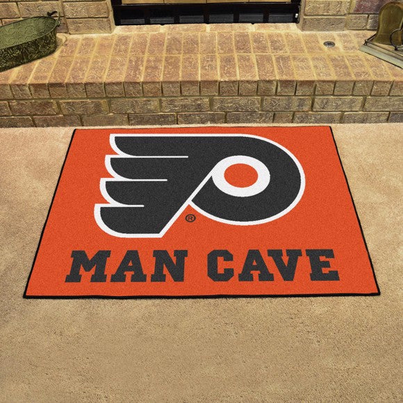 "NHL - Philadelphia Flyers Man Cave All Star 33.75"" x 42.5"""