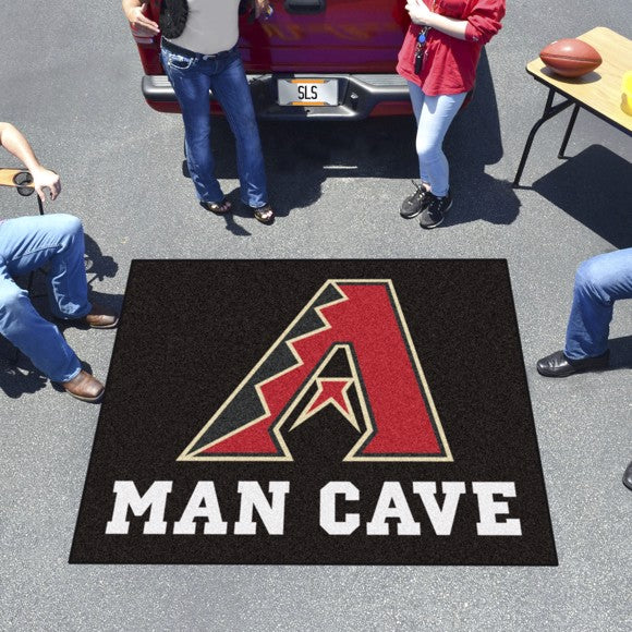 MLB - Arizona Diamondbacks Man Cave Tailgater Mat 59.5
