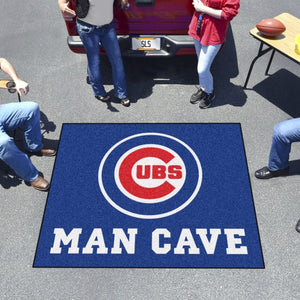 "MLB - Chicago Cubs Man Cave Tailgater 59.5"" x 71"""