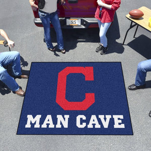 "MLB - Cleveland Indians Man Cave Tailgater 59.5"" x 71"""