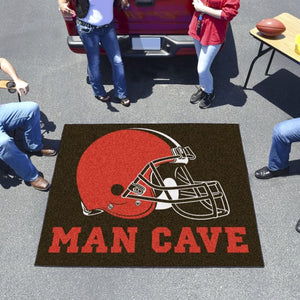 "NFL - Cleveland Browns Man Cave Tailgater 59.5"" x 71"""