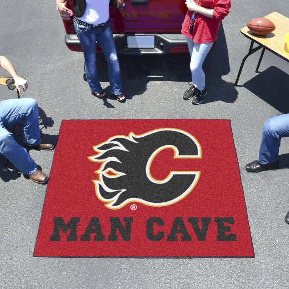 "NHL - Calgary Flames Man Cave Tailgater 59.5"" x 71"""