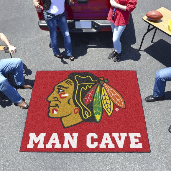 "NHL - Chicago Blackhawks Man Cave Tailgater 59.5"" x 71"""