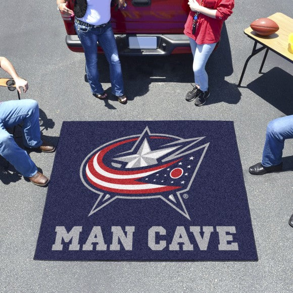 "NHL - Columbus Blue Jackets Man Cave Tailgater 59.5"" x 71"""
