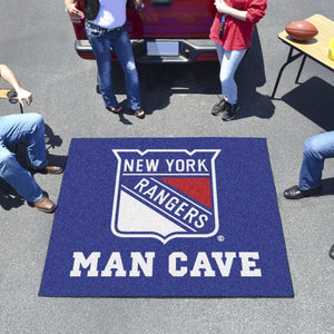"NHL - New York Rangers Man Cave Tailgater 59.5"" x 71"""