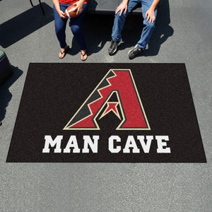 "MLB - Arizona Diamondbacks Man Cave Ulti-Mat Mat 59.5"" x 94.5"