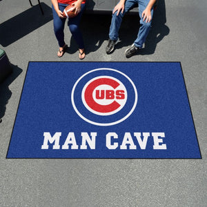 "MLB - Chicago Cubs Man Cave Ulti Mat 59.5"" x 94.5"""