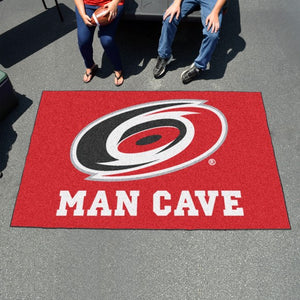 "NHL - Carolina Hurricanes Man Cave Ulti Mat 59.5"" x 94.5"""