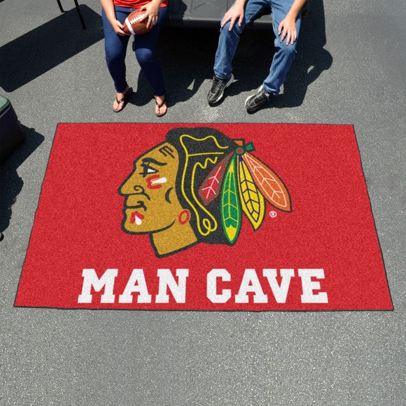 "NHL - Chicago Blackhawks Man Cave Ulti Mat 59.5"" x 94.5"""