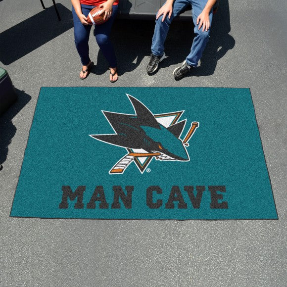 NHL - San Jose Sharks Man Cave Ulti Mat 59.5