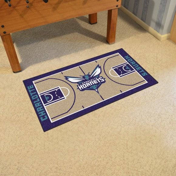 "NBA - Charlotte Hornets NBA Court Large Runner 29.5"" x 54"""