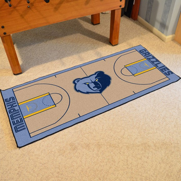 NBA - Memphis Grizzlies NBA Court Large Runner 29.5