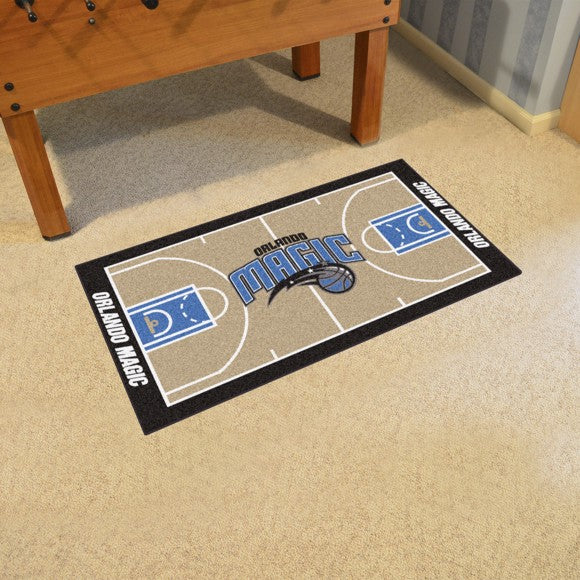 NBA - Orlando Magic NBA Court Large Runner 29.5