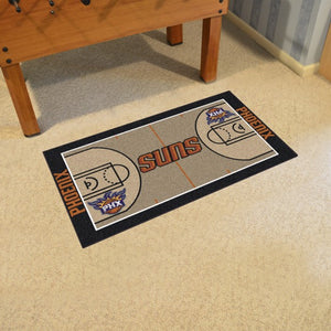 "NBA - Phoenix Suns NBA Court Large Runner 29.5"" x 54"""