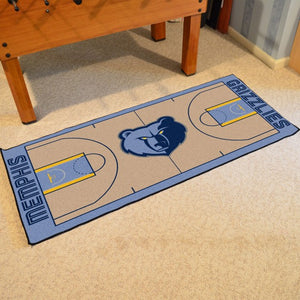 "NBA - Memphis Grizzlies NBA Court Runner 24"" x 44"""
