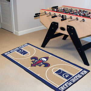 "NBA - New Orleans Pelicans NBA Court Runner 24"" x 44"""