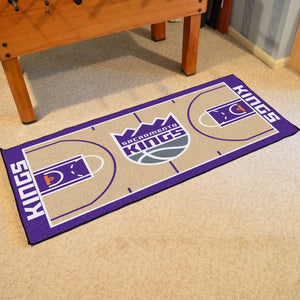 "NBA - Sacramento Kings NBA Court Runner 24"" x 44"""