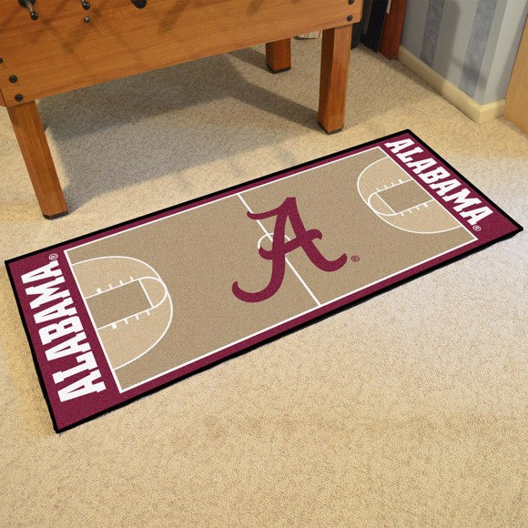 "Alabama NCAA Basketball Runner 30"" x 72"""