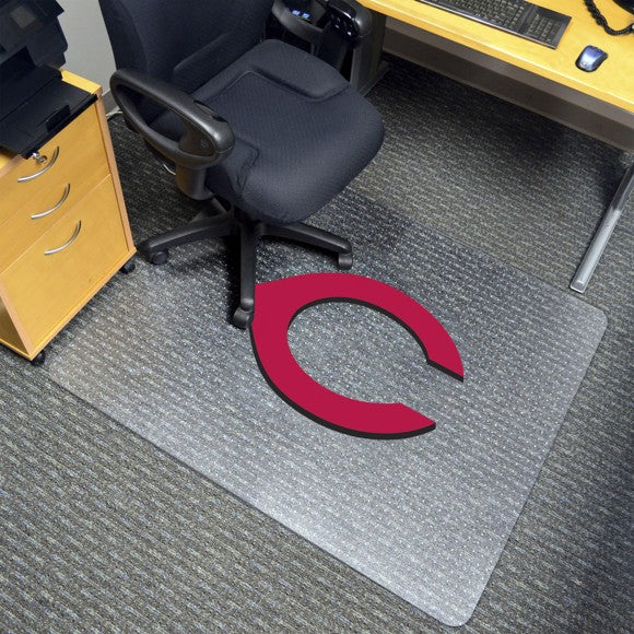 "MLB - Cincinnati Reds Chair Mat 45"" x 53"""