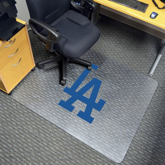 "MLB - Los Angeles Dodgers Chair Mat 45"" x 53"""