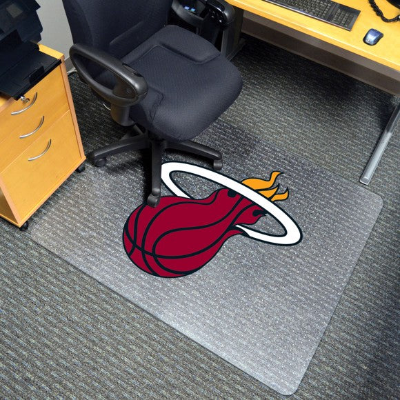"NBA - Miami Heat Chair Mat 45"" x 53"""