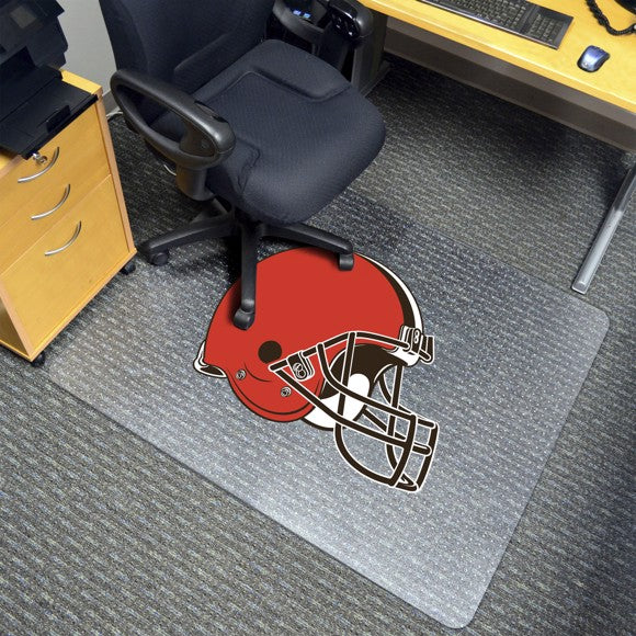 "NFL - Cleveland Browns Chair Mat 45"" x 53"""