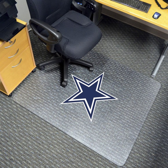"NFL - Dallas Cowboys Chair Mat 45"" x 53"""
