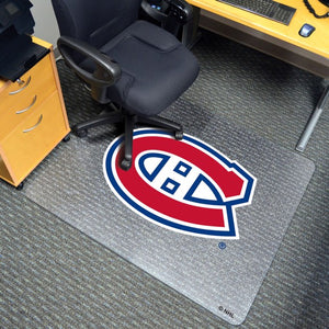 "NHL - Montreal Canadiens Chair Mat 45"" x 53"""