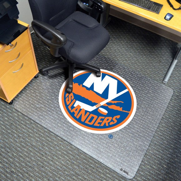 "NHL - New York Islanders Chair Mat 45"" x 53"""