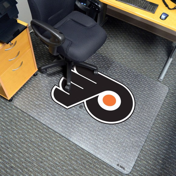 "NHL - Philadelphia Flyers Chair Mat 45"" x 53"""