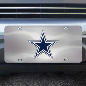 "NFL - Dallas Cowboys Diecast License Plate 12"" x 6"""