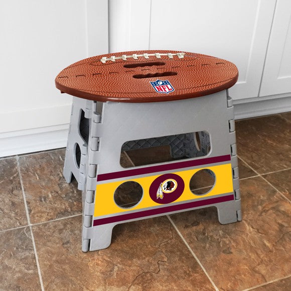 "NFL - Washington Redskins Folding Step Stool 14"" x 13"""