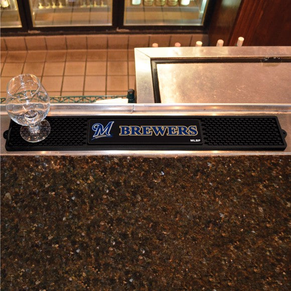 MLB - Milwaukee Brewers Drink Mat 3.25