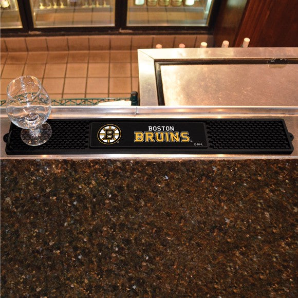 NHL - Boston Bruins Drink Mat 3.25