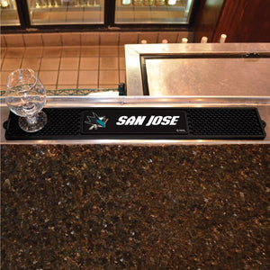 "NHL - San Jose Sharks Drink Mat 3.25"" x 24"""