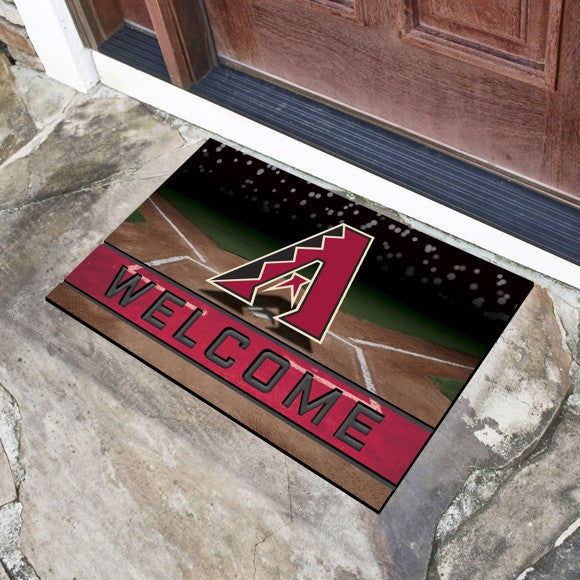 MLB - Arizona Diamondbacks Crumb Rubber Door Mat 18