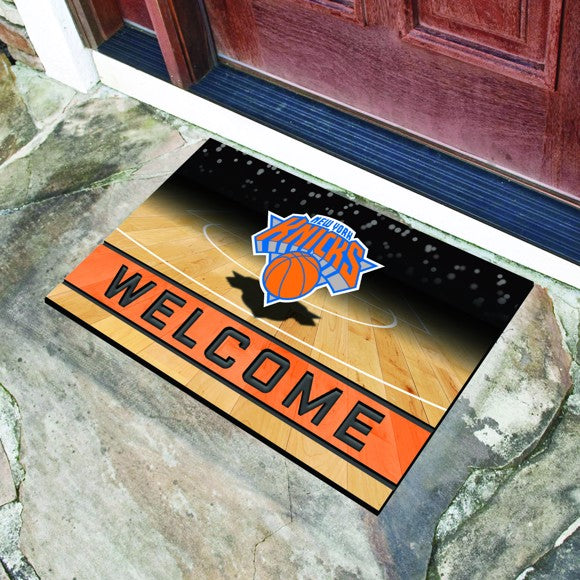 NBA - New York Knicks Crumb Rubber Door Mat 18