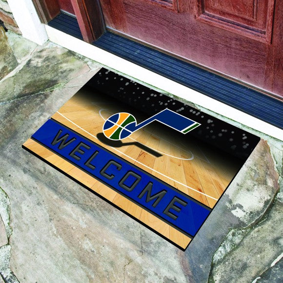 "NBA - Utah Jazz Crumb Rubber Door Mat 18"" x 30"""
