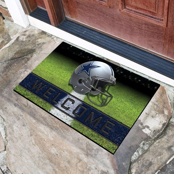 "NFL - Dallas Cowboys Crumb Rubber Door Mat 18"" x 30"""