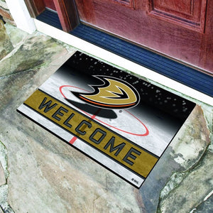 "NHL - Anaheim Ducks Crumb Rubber Door Mat 18"" x 30"""